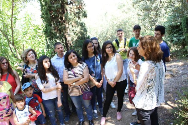 Outing to the Silk Museum and Souk el Gharb 2017 -04-