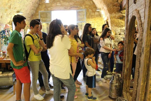 Outing to the Silk Museum and Souk el Gharb 2017 -05-