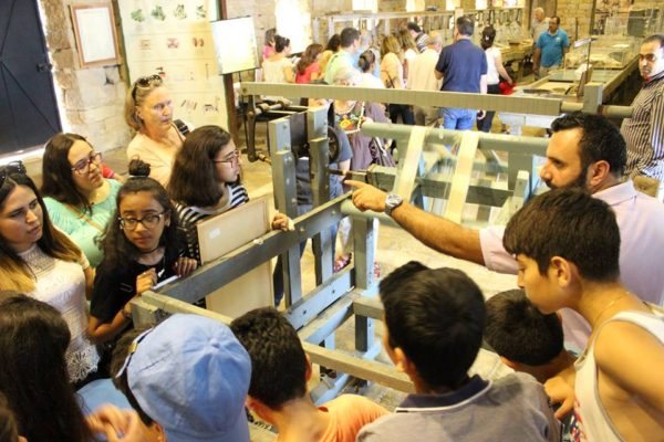 Outing to the Silk Museum and Souk el Gharb 2017 -08-