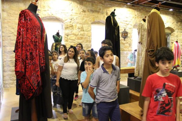 Outing to the Silk Museum and Souk el Gharb 2017 -09-