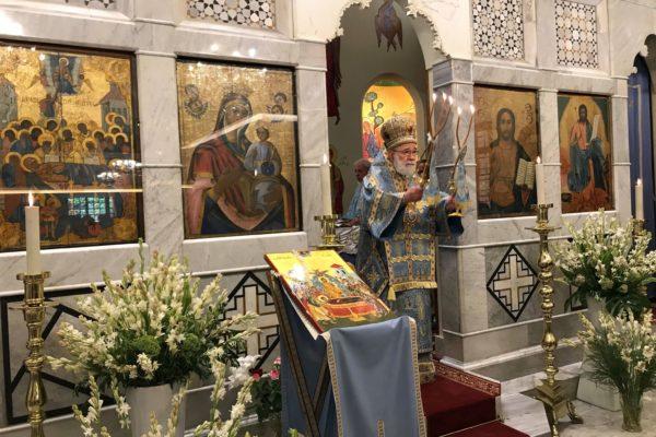 Saint Mary's feast Liturgy 2018 -01-