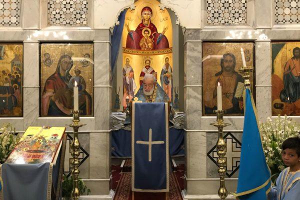 Saint Mary's feast Liturgy 2018 -04-