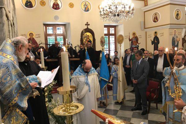 Saint Mary's feast Liturgy 2018 -06-