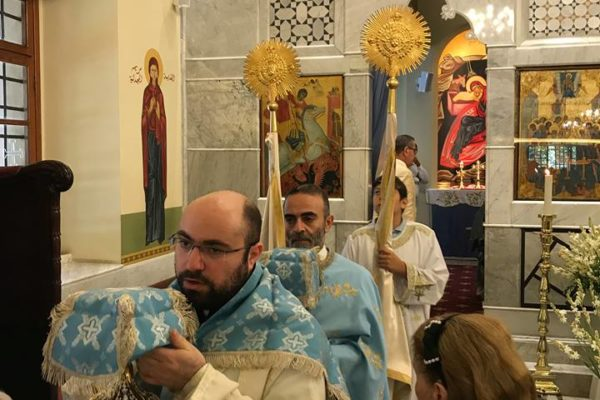 Saint Mary's feast Liturgy 2018 -05-
