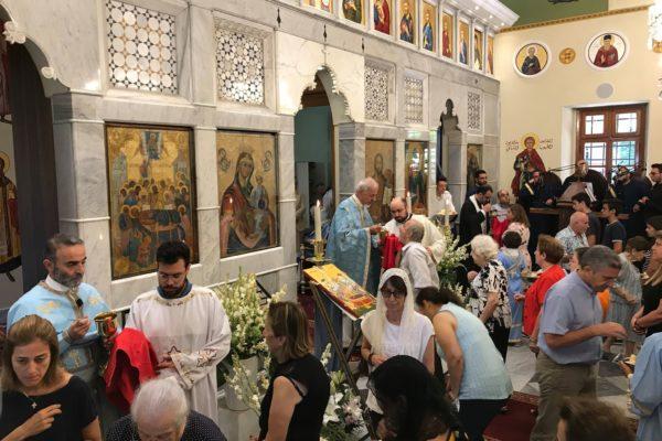 Saint Mary's feast Liturgy 2018 -07-